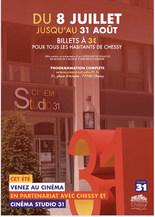 Un Été au Ciné : 3€ pour les habitants de Chessy