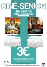 Ciné-Sénior : 14H00