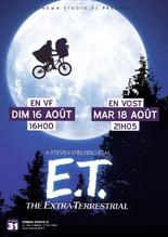 Séances Cultes : E.T. L'Extra-Terrestre