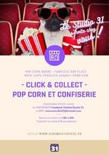 Menu - Pop Corn et confiserie