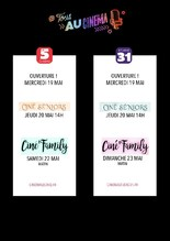 Ciné-Séniors & Ciné'Family