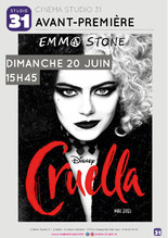 Avant-Première : Cruella VF
