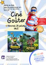 """Ciné-Goûter : """"Ainbo : Princesse d'Amazonie"""" ou """"Les Croods 2"""""""