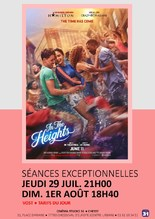 """""""In The Heights"""" VOST : soirées exceptionnelles"""