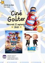 Ciné-Goûter : 2 films au choix