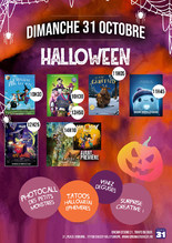 Happy Halloween au Studio 31