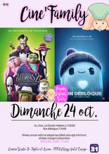 Ciné-Family : 2 films au choix