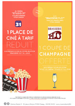Ciné-resto / Cinéma Studio 31 Chessy