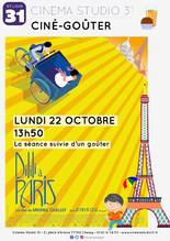 Ciné-goûter : Dilili à Paris