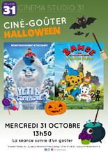 Ciné-goûter spécial Halloween