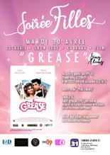 "Soirée Filles ""Grease"" sing along VOST"