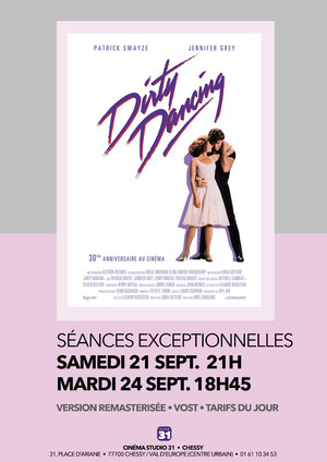 Dirty Dancing cinéma Chessy