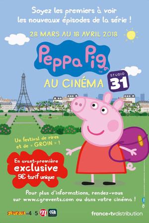 Peppa Pig au cinéma Chessy